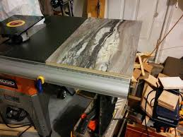 Ridgid Router Table New Router Table Insert In Table Saw Power Tools Wood Talk Online