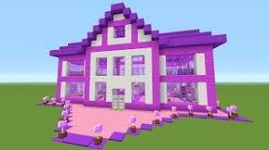 The Coolest Barbie House Ever by Minecraft Awesome Barbie Dream House Survival House 39