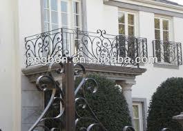 top selling iron galvanized steel tubular balcony fence view