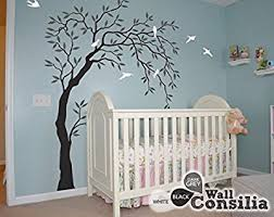 Tree Nursery Wall Decal Baby Nursery Wall Decals Willow Trees Decal Tree