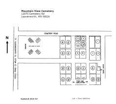 Map Of Leavenworth Wa Mountain View Cemetery In Leavenworth Washington Find A Grave