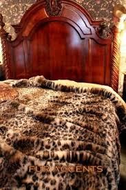 Faux Fur Comforter Set King Animal Print Bedspreads And Comforters Foter