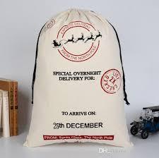 large christmas gift bags large christmas gift bag deer canvas cotton bag drawstring