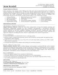 hr manager resume resume sle for hr manager fresh best ideas senior hr manager