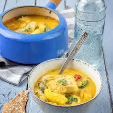 cuisiner la lotte à la poele recette lotte au curry