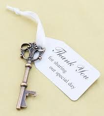 key bottle opener wedding favors wedding favor skeleton key bottle opener and thank you for