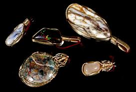matrix opal ring royal peacock opal mine gift shop