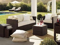 Outdoor Wicker Chairs With Cushions Patio 52 Patio Furniture Cushions With Wooden Pattern Floor