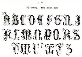 vintage ornamental typography the graffical muse