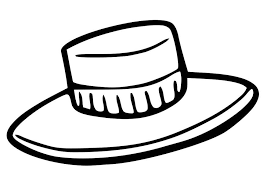 Coloring Page Hat Img 19353 Coloring Page Of A Hat