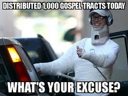 Guilt Meme - guilt tripping evangelists air