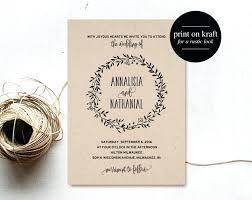 rustic wedding invitations templates whatstobuy