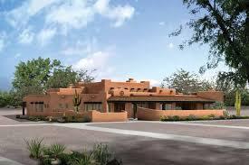 southwest style house plans southwest adobe style house plans