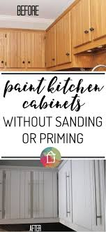 staining kitchen cabinets without sanding how to paint kitchen cabinets without sanding or priming step by step