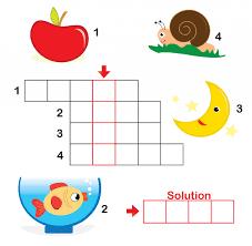 printable easy crossword puzzles with solutions crossword puzzles for kids 3 printable crossword puzzles brain