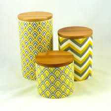 Large Kitchen Canisters Accessories Excellent Yellow Kitchen Canisters Ideas Sets Pale