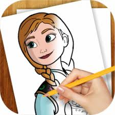 learn draw anna frozen 1 05 download apk android aptoide