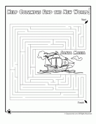 columbus day worksheets and coloring pages for kids woo jr