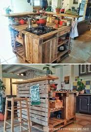 kitchen cabinets made out of pallet wood 15 cool and easy diy pallets ideas for your kitchen styletic
