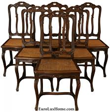 Vintage Dining Room Furniture French Vintage Dining Chairs Letters From Eurolux