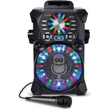 singing machine with disco lights singing machine remix high definition digital karaoke system with
