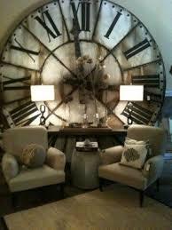 large vintage wall clock foter