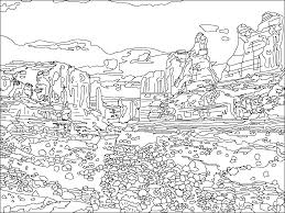 Jurassic Park Map Jurassic Park Coloring Page Coloring Home