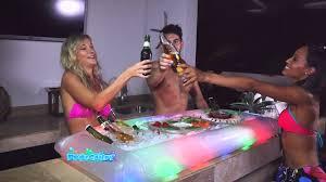 illuminated buffet cooler youtube