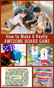 how to make a board game awesome family fun