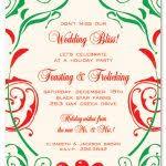 christmas brunch invitation wording garden blooms luncheon invitations myexpression 15249