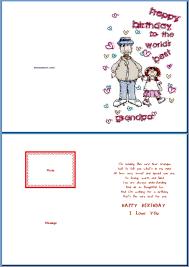doc grandfather birthday cards u2013 wish your grandpa free