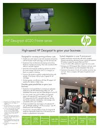 download free pdf for hp designjet 4020 printer manual