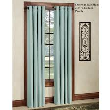 image result for curved curtain rod bow window or a window thermal elegance grommet curtain panel
