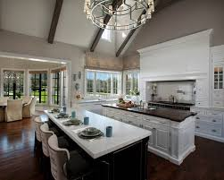 kitchens with two islands kitchen island designs