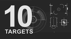 free after effects template 10 detailed target elements free