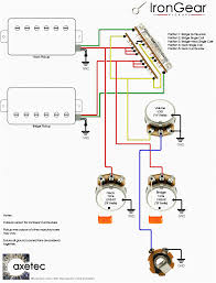guitar wiring diagrams 2 pickups with fancy pickup carlplant at