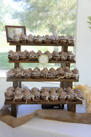 cup cake stands the cupcake stand 4 tiered rustic wooden display stand