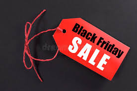 best deals for black friday resale black friday shopping sale concept with red ticket sale tag stock