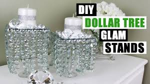 light up display stand dollar tree diy dollar tree glam decor stands dollar store diy candle holders