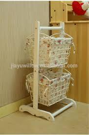 handmade white kitchen storage cabinet basket bedroom storage