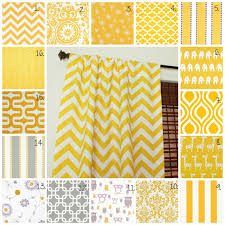 Yellow Curtains Nursery Curtain Panels Set Corn Yellow Drapes Corn Yellow Curtain
