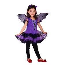 Vampire Costumes For Kids M Xl Fantasia Girls Halloween Vampire Costumes Kids Bat Cosplay