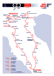 Brescia Italy Map by Mille Miglia What U0027s So Special About This Italian Road Race