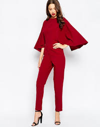 cape jumpsuit cape sleeve jumpsuit fashion statement for glamorous