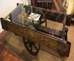 coffee tables decor rail cart coffee table astonishing vintage