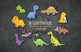 font design series vector the good dinosaurs vector set the design chef