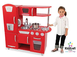 amazon com kidkraft red vintage kitchen toys u0026 games