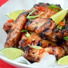 cuisiner des ailes de poulet ailes de poulet au miel et gingembre