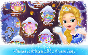 frozen party princess libby frozen party android apps on play