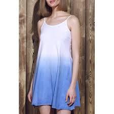 spaghetti strap color block dress cheap casual style online free